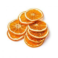 Сублимированный апельсин кольца с цедрой 10 г.