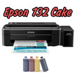 Пищевой принтер Epson L132 Cake с СНПЧ и чернилами