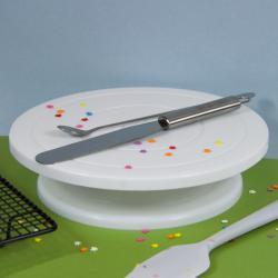 Подставка для торта поворотная диаметр 28 см