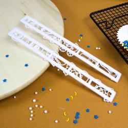 Набор штампов для мастики и теста Детство