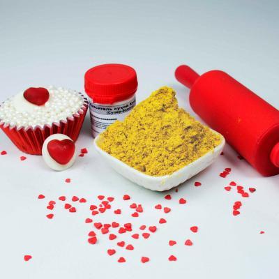 Пищевой краситель блестящий Светло-желтый 1 кг