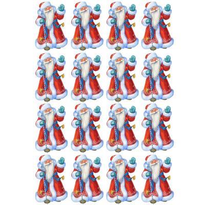 Съедобная картинка на торт Дед Мороз