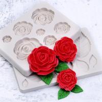 Силиконовые молды для шоколада Цветы