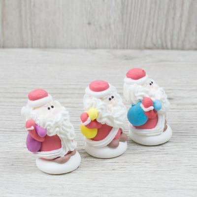 """Сахарные фигурки """"Дед Мороз с мешком"""""""