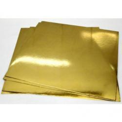 """Подложки для кондитерских изделий """"Золото"""" 21х21 см (10 шт) """"Квадрат"""""""