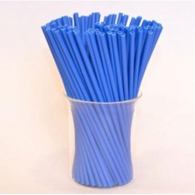 """Палочки для кейк-попсов пластиковые 15 см  50 шт """"Синий"""""""