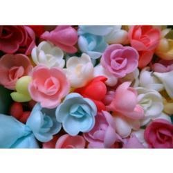 Вафельные украшения Розы 10 шт
