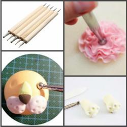 Набор инструментов для моделирования изделий из мастики 5 шт
