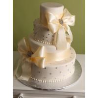 Атласная лента для торта