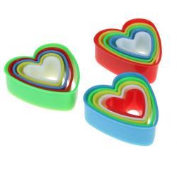"""Набор форм для печенья """"Сердечки"""""""