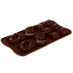 """Силиконовая форма для льда и шоколада """"Дамский набор"""""""