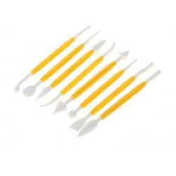 Набор приспособлений для моделирования кондитерских украшений 8 шт
