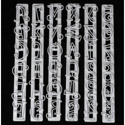 """Набор печатей для марципана и теста 6 шт """"Английский алфавит и Цифры"""""""