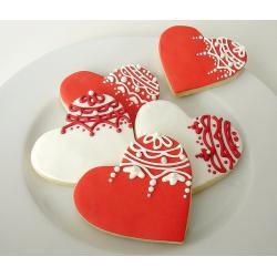 """Набор форм для вырезания печенья """"Сердечки"""" 5 шт"""