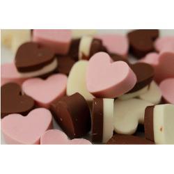 """Форма для льда и шоколада 15х14,5х1,5 см """"Сердечки"""""""
