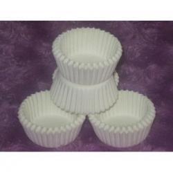 Капсулы бумажные белые для кондитерских изделий 50 шт