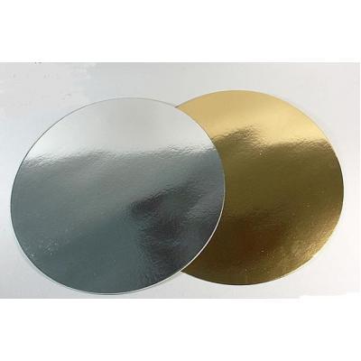 Подложки для кондитерских изделий Золото/серебро d 26 см (10 шт)