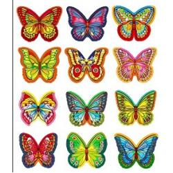 Вафельные бабочки Парфе 10 шт