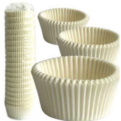 Капсулы бумажные белые для кексов 1000 шт