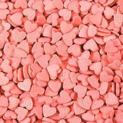 """Посыпка кондитерская """"Сердечки розовые"""" (мини) 4 мм 100 г"""