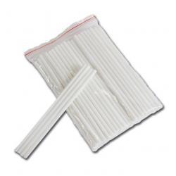 Палочки для сахарной ваты пластиковые 37 см 100 шт (Белые)