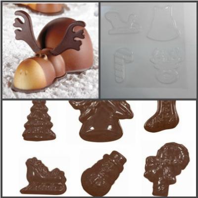 "Форма для шоколада ""Сани Деда Мороза"""