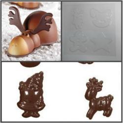 "Форма для шоколада ""Новогодняя звезда"""