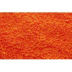 Посыпка кондитерская шарики оранжевые 1-2 мм 100 гр