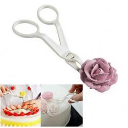 Кондитерские ножницы для переноса цветов из крема
