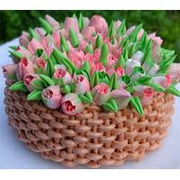 Кондитерские насадки тюльпан для крема купить по выгодной цене